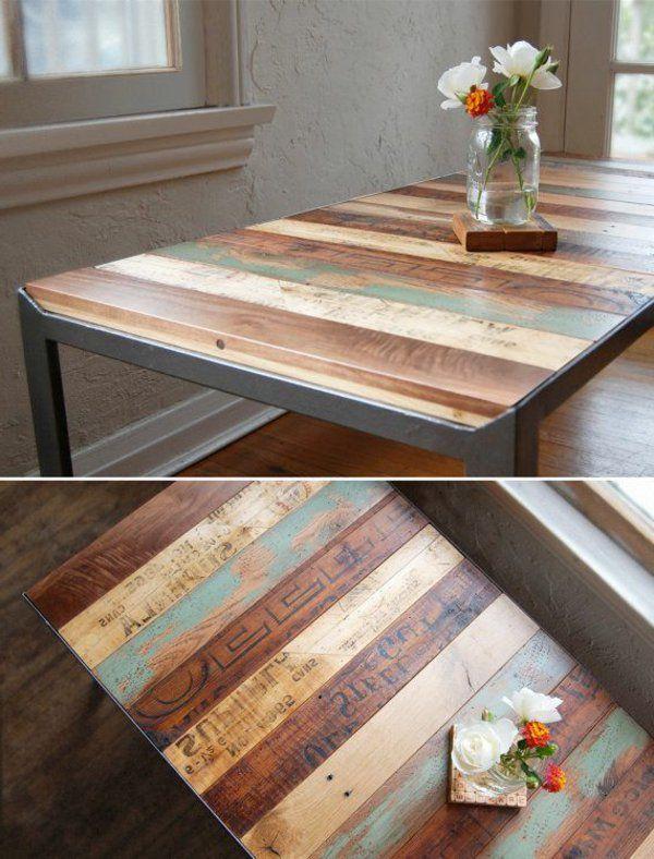 50 id es pour une table basse avec palette tables for Table basse avec palette en bois