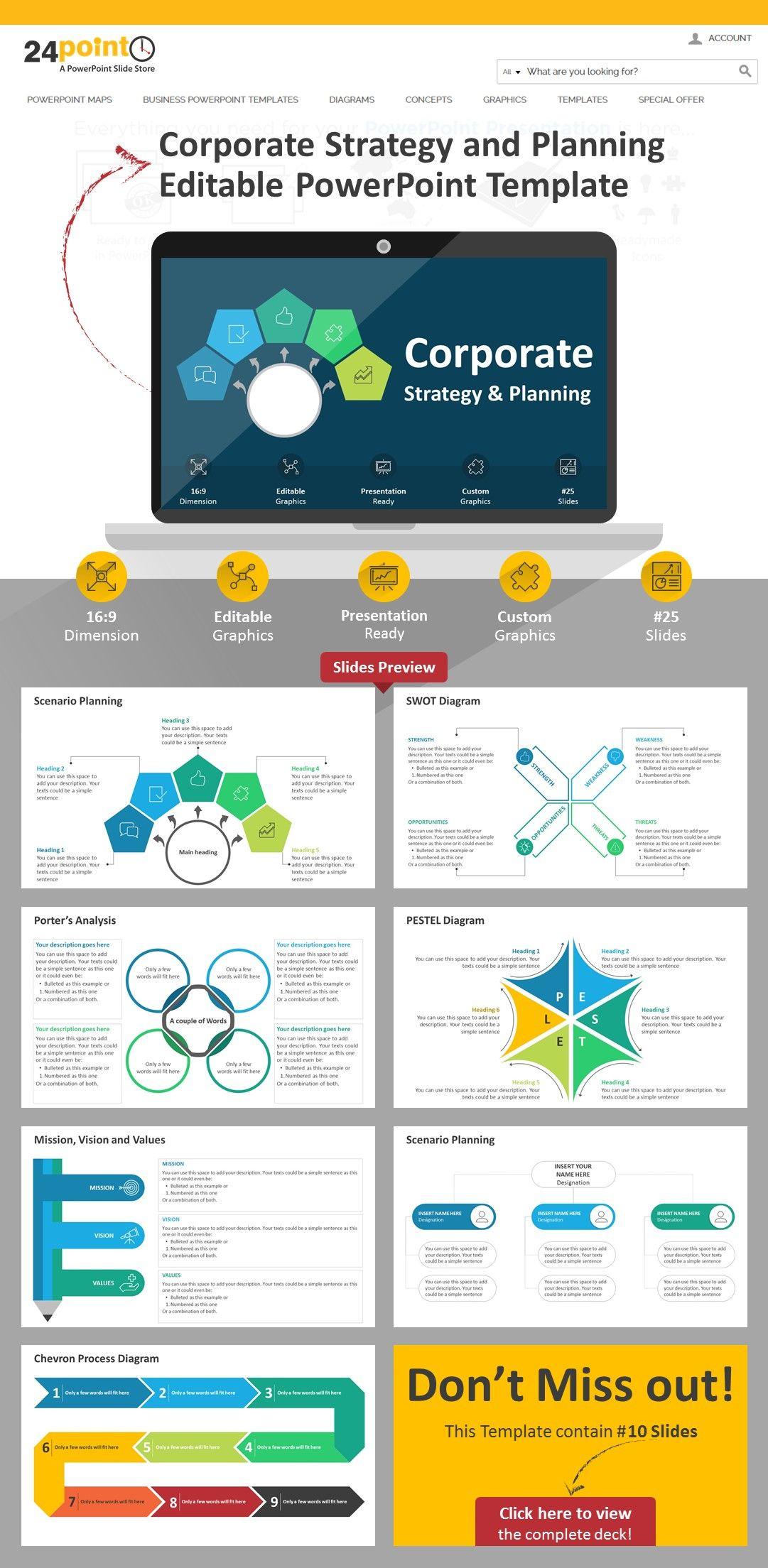 This Slide Corporatestrategyandplanning Powerpoint Template