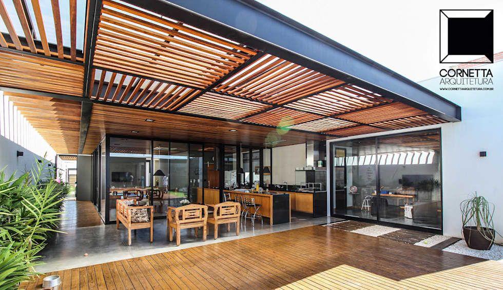 Rea de lazer casas por cornetta arquitetura arkdesign for Design casa moderna