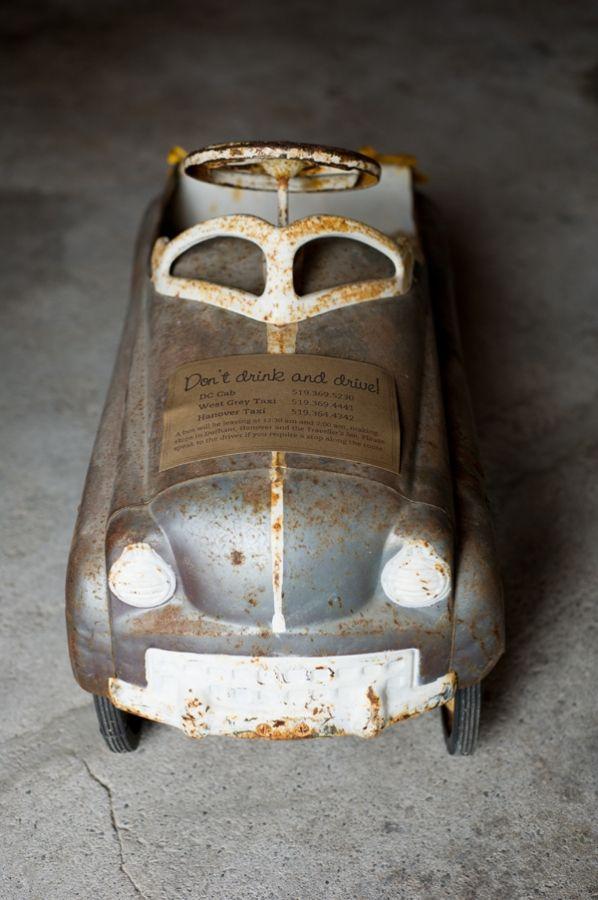 pedal car...