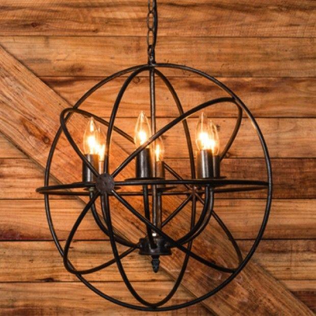 Sphere Chandelier In 2019 Lighting Farmhouse Light
