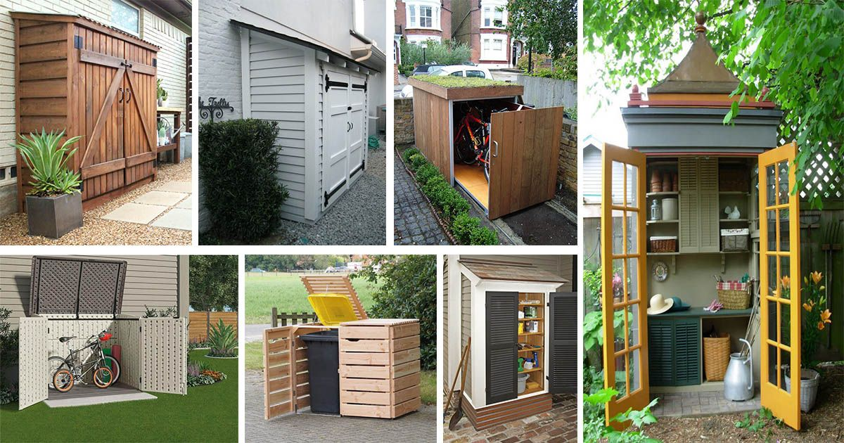 15 Kreative Diy Kleine Lagerhaus Projekte Fur Ihren Garten Garten Ihren Kleine Kreative Lagerhaus Projek Gartenmobel Selber Bauen Projekte Holzschuppen