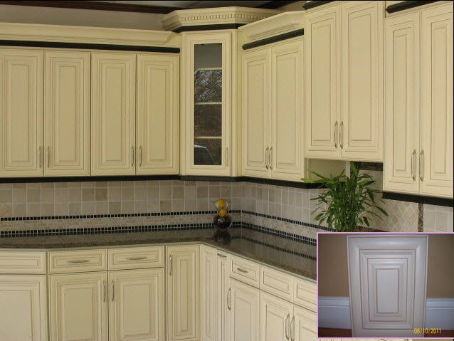 butter cream glazed kitchen cabinets vanilla glazed 03vg