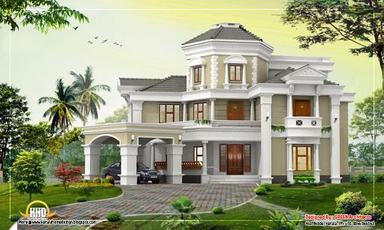 Awesome Home Design 5167 Sq Ft Kerala House Design House Design Pictures Kerala Houses