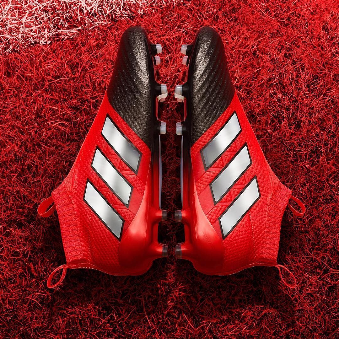 the latest 4ded8 dc5d8 Adidas Red Limit Ace 17 Purecontrol