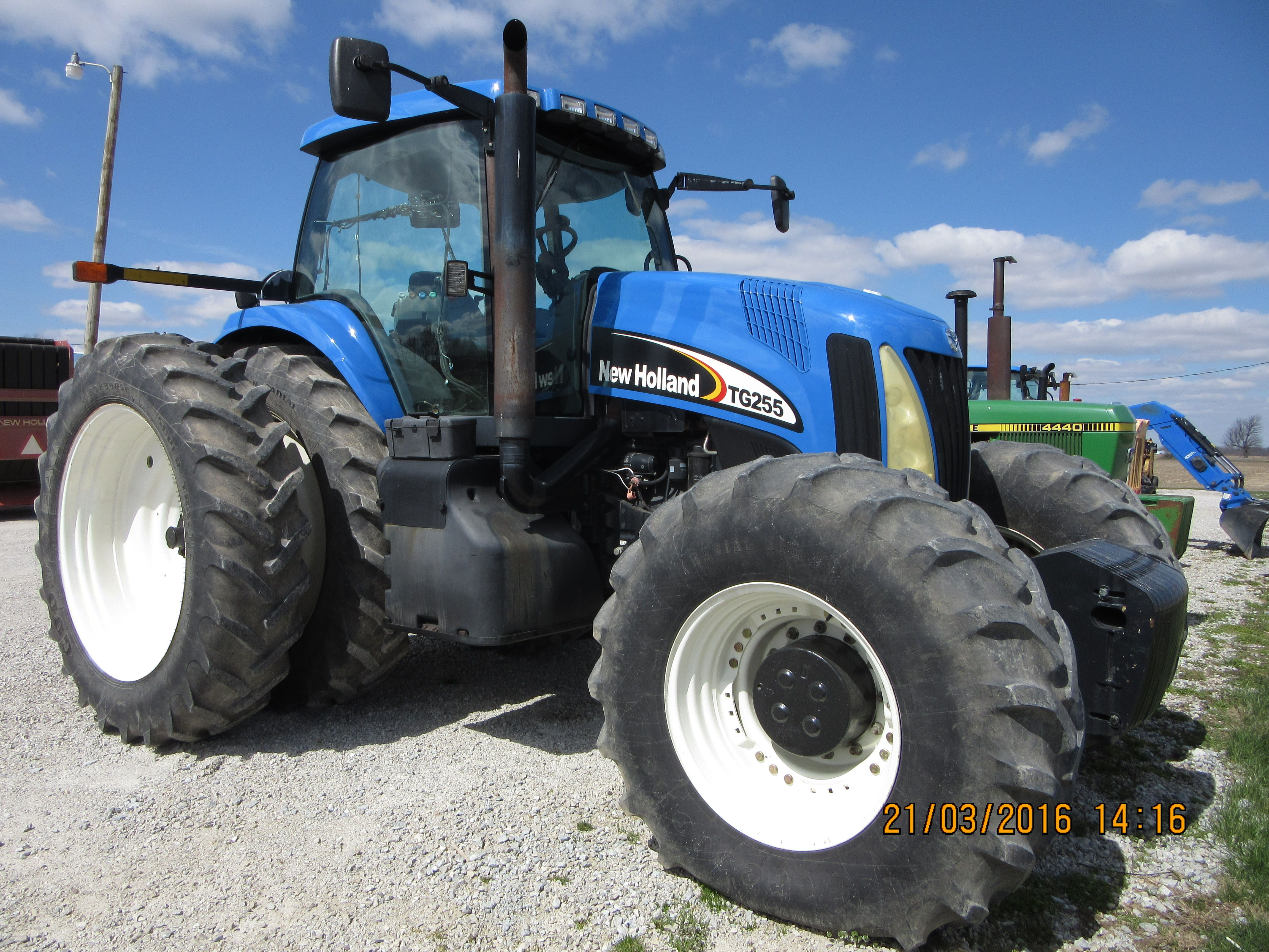 New Holland Tg255 New Holland Tractor Tractors New Holland