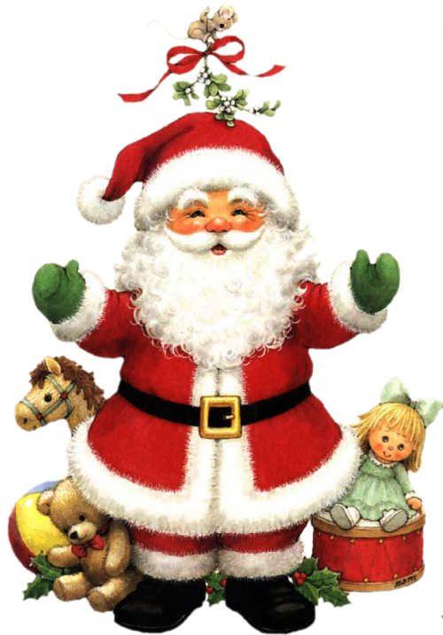 Papa Noel Santa Claus Imagenes Para Bajar Christmas Art Vintage Christmas Cards Papa Noel