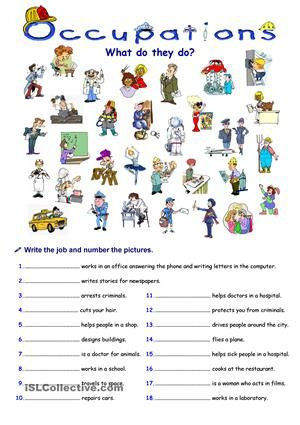 Occupations | professions and jobs | Pinterest