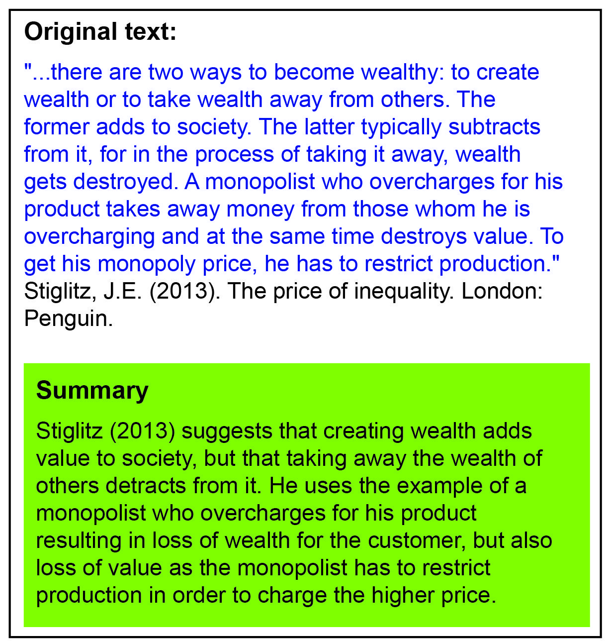 Example Of Summarising Quote Paraphrase Summarize Summarie And Paraphrases