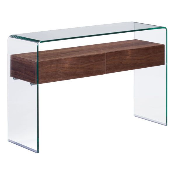 Shaman Console Table Zuo Modern Contemporary IncW435 x D138 x