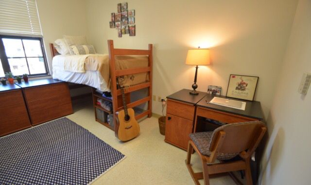 Dorm Room  C B The Lsu Residential College Complex North South And West Halls Has Spacious