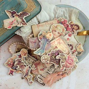Prima > Tales Of You And Me > Tales of You & Me Chipboard Shapes - Prima : A Cherry On Top (30) X 3