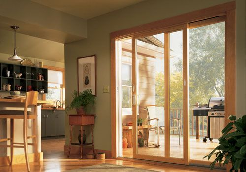 Contemporary gliding patio doors make the transition to outdoor living  space simple. - Contemporary Gliding Patio Doors Make The Transition To Outdoor