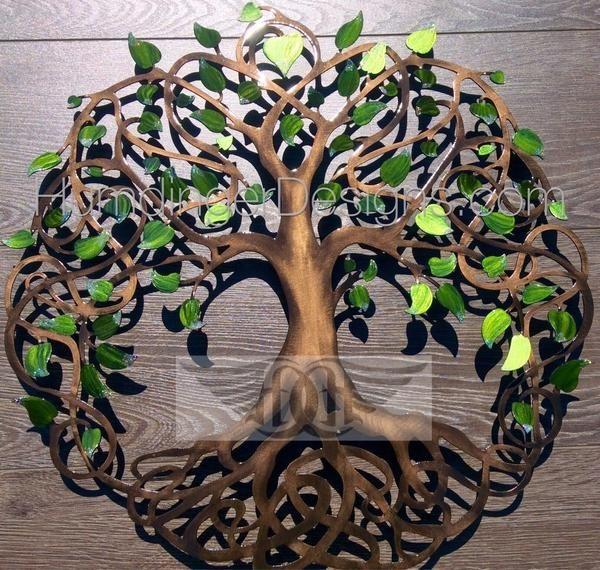 Infinity Tree Of Life Metal Wall Art Celtic Knot Tree Metal Tree Wall Art Art Gallery Wall Tree Art