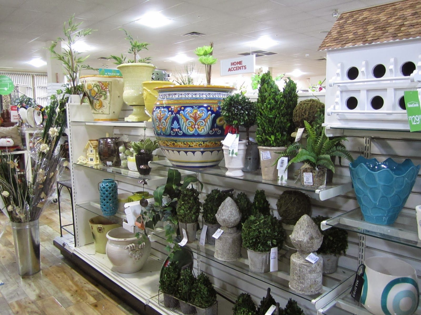 Tjmaxx Homegoods Heaven Garden Stools Planters And Decor For