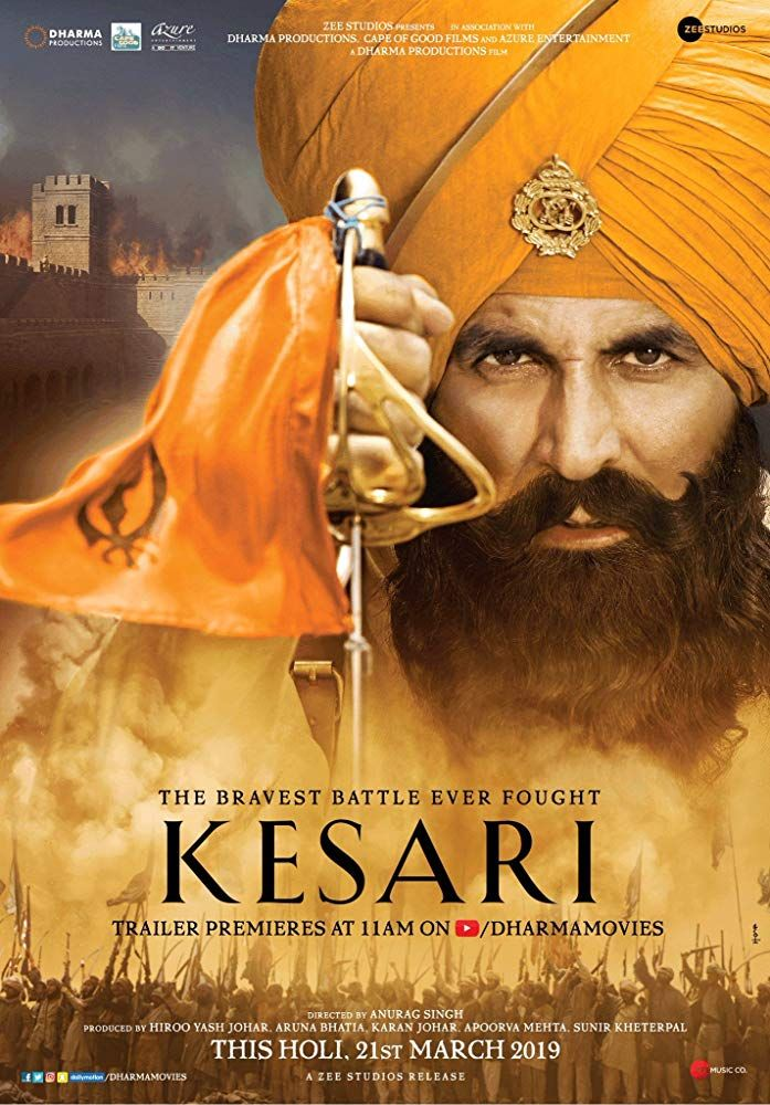 Kesari (2019) Hindi Desi Pre DVDRip x264 AC3 ….. Movie