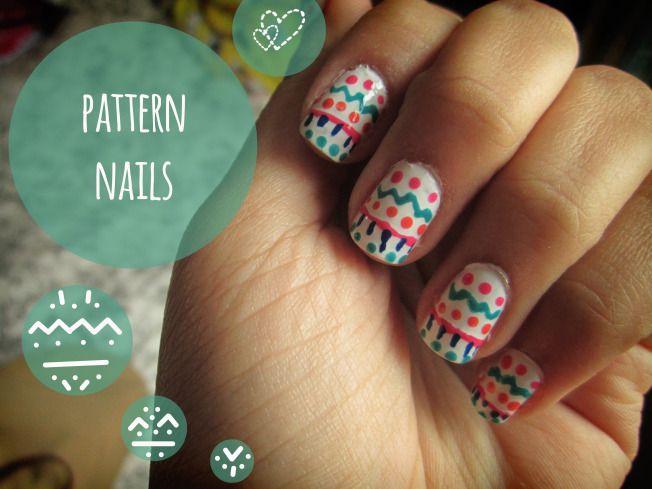 Attempts At Nail Art Aztecnative Pattern Nail Designs Spring