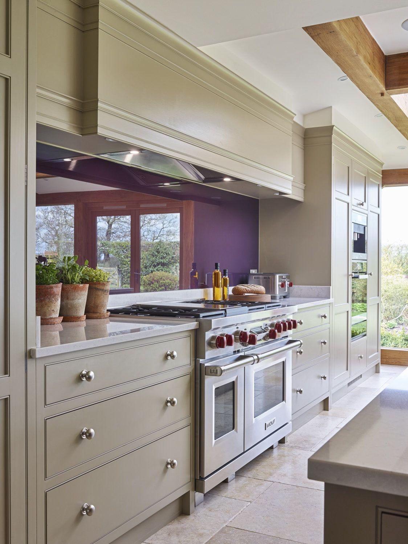 Best The Secret Drawer Bespoke Kitchen In Farrow Ball Light 400 x 300