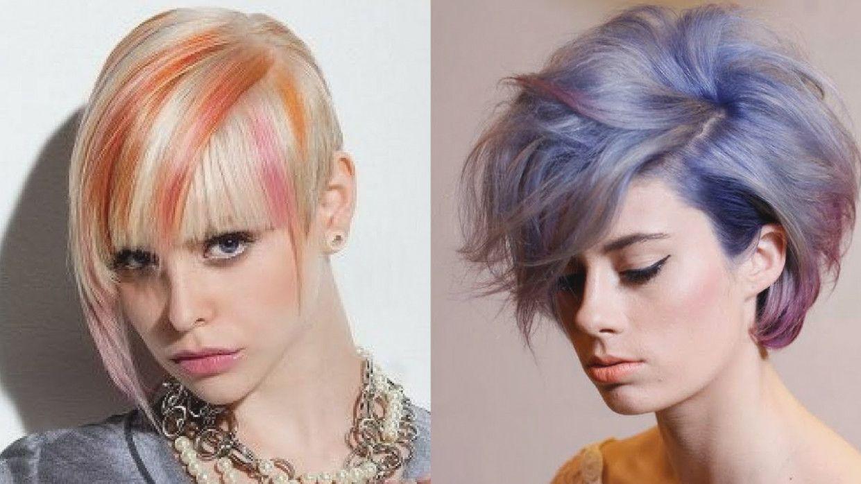 16 Bold Hair Color Ideas For Short Short Ha 231788 Hairstyle Models Short Hair Color Short Hair Styles Bold Hair Color