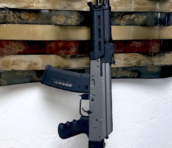 Smaller version of the 1st project picture. Graphite Black H-146Q, Two Tone, AK-47, Tactical Rifle, Tungsten H-237Q, AK Rifle