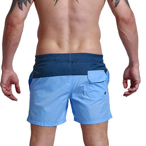 3f4b17415f Aimpact Fashion Summer Sexy Beach Men's Shorts Leisure Lining Liner Men  Board Shorts Patchwork Fast Dry Elastic Waist Short DT62
