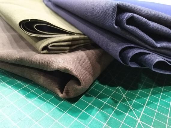 #10 Waxed Canvas - Tex Wax by Carr TextilesOak Brown60 inches wide