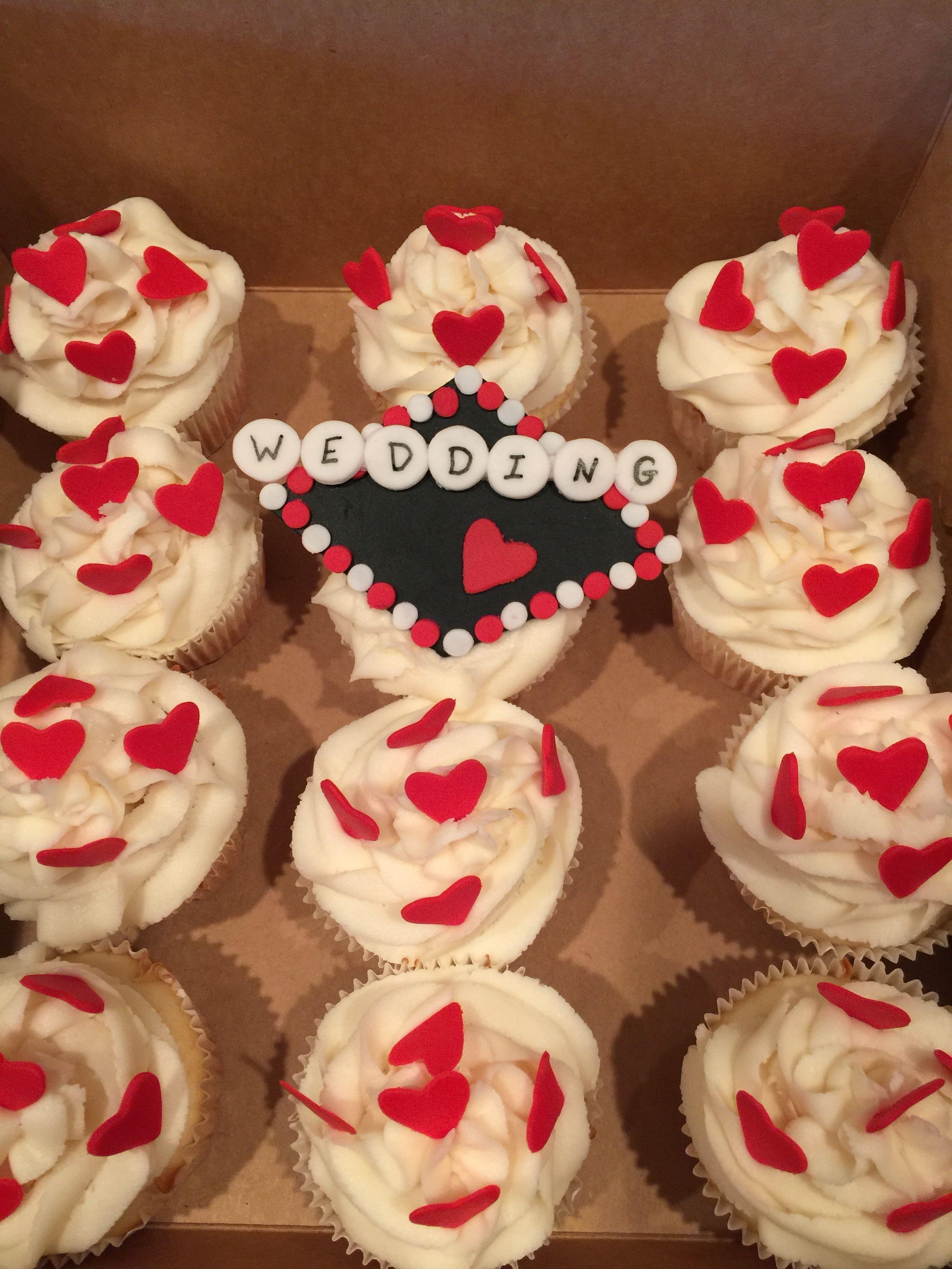 Las Vegas wedding chapel cupcakes Vegas wedding chapel