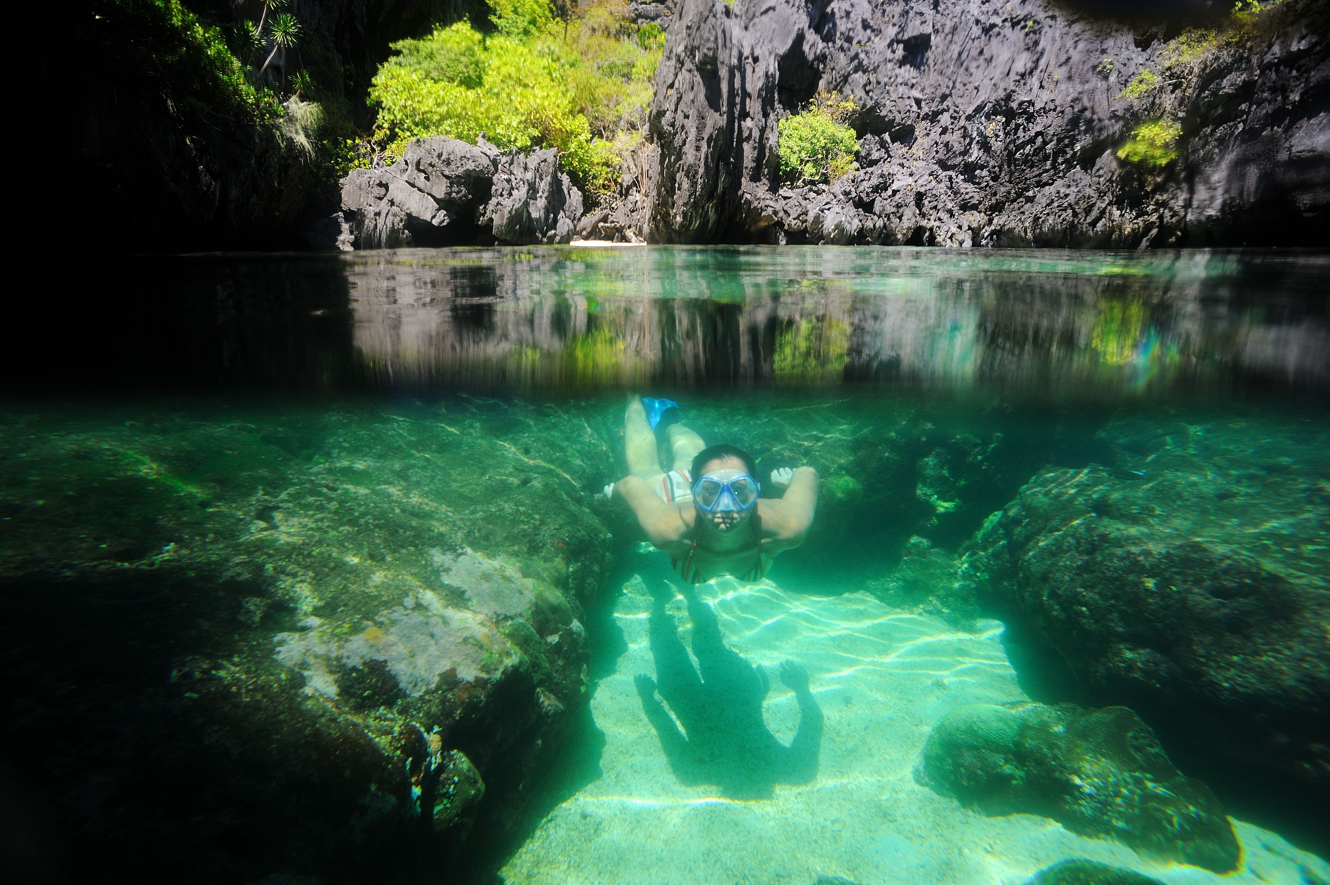 Cave Diving In The Paradise! The Philippines, Palawan