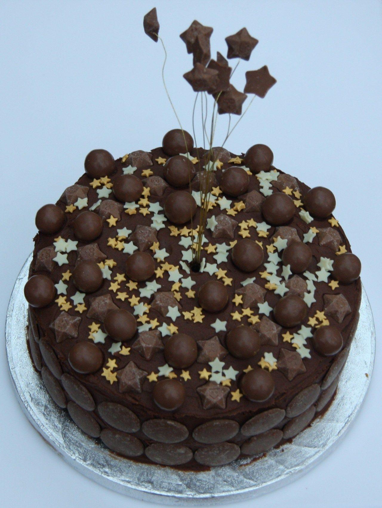20+ Inspiration Photo of Chocolate Birthday Cake For Boy ...