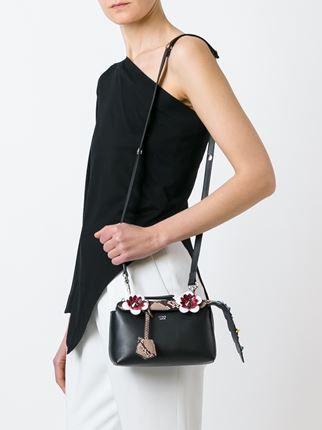 8029e0d0b8e6 Fendi Mini  fashion Show By The Way  Crossbody Bag - Stefania Mode -  Farfetch.com