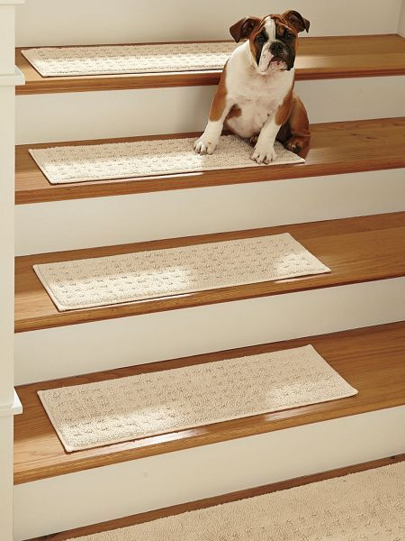 Protect Wooden Stairs From Wear With Vista Stair Treads From Solutions.  Shop Pure Cotton Stair