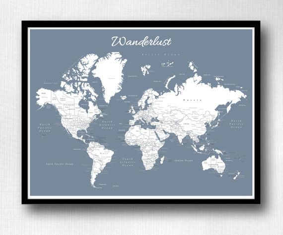 World push pin map print only travel map map poster travel world push pin map print only travel map map poster travel board wedding anniversary gift world 005 gumiabroncs Choice Image