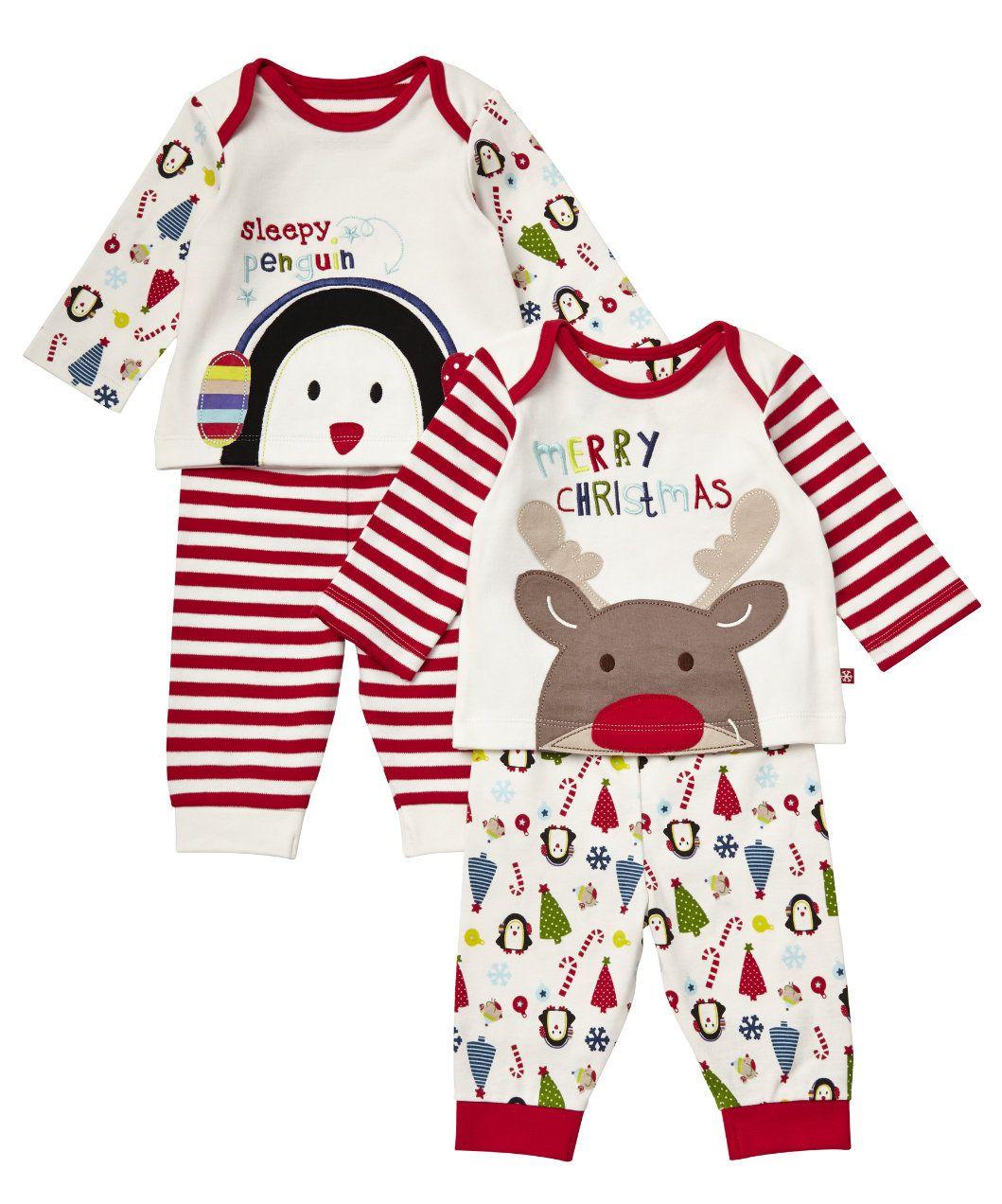 Mothercare Unisex Christmas Pyjamas - 2 Pack - pyjamas - Mothercare ... 577dbb1a6