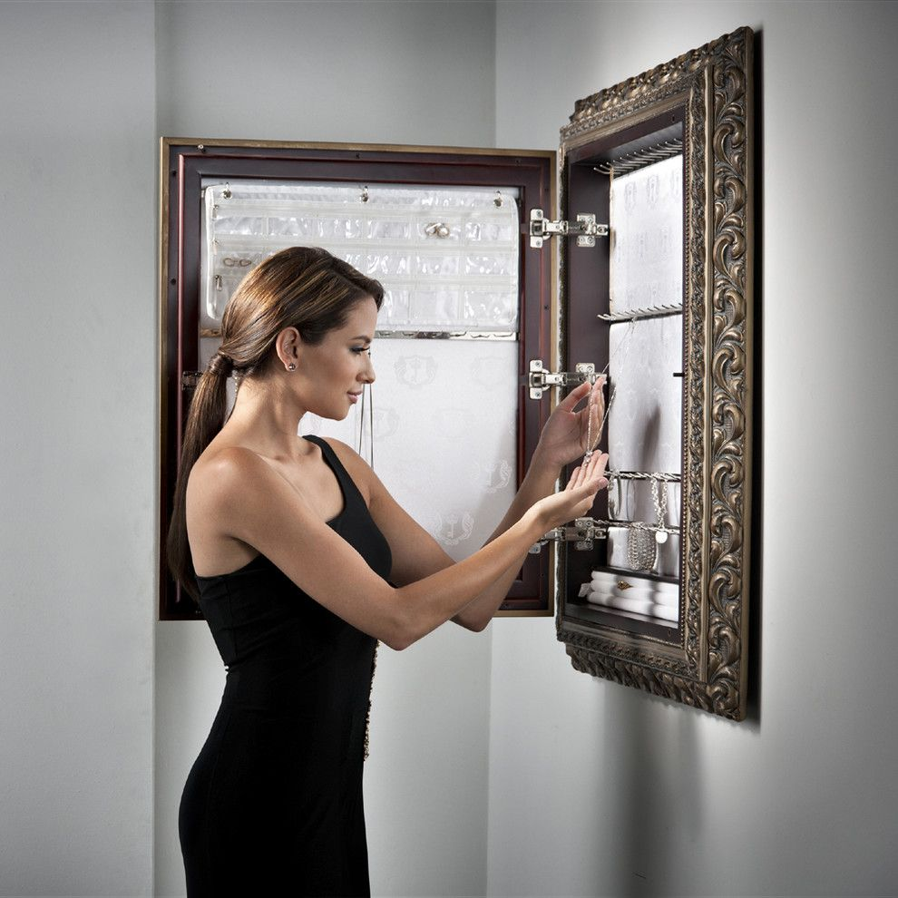 Wall Mount Jewelry Armoire Organizer Arch My furniture