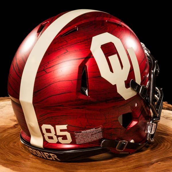 oklahoma sooners bring the wood jersey