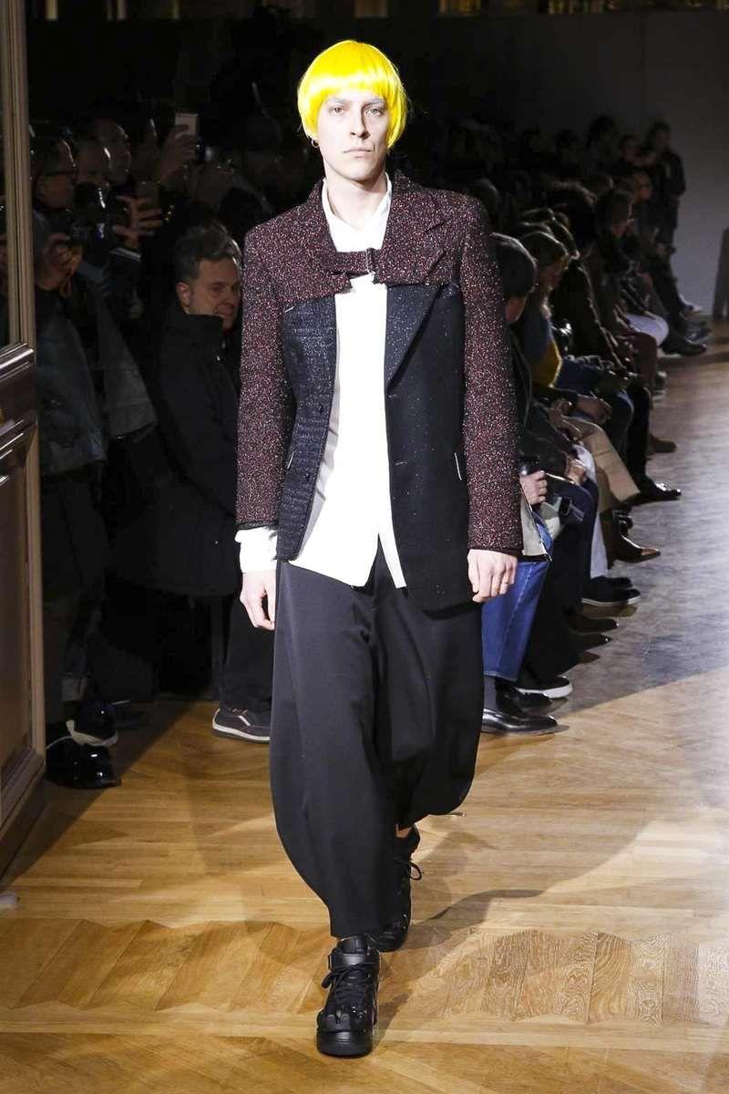 Comme des garcons homme plus fallwinter paris fashion week