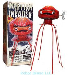 Martian Invader Robot Wind up - SALE!