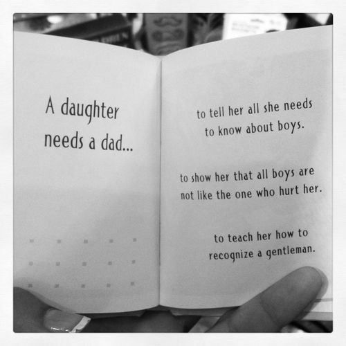 A daughter needs a dad... | Daddy quotes, Absent father ...