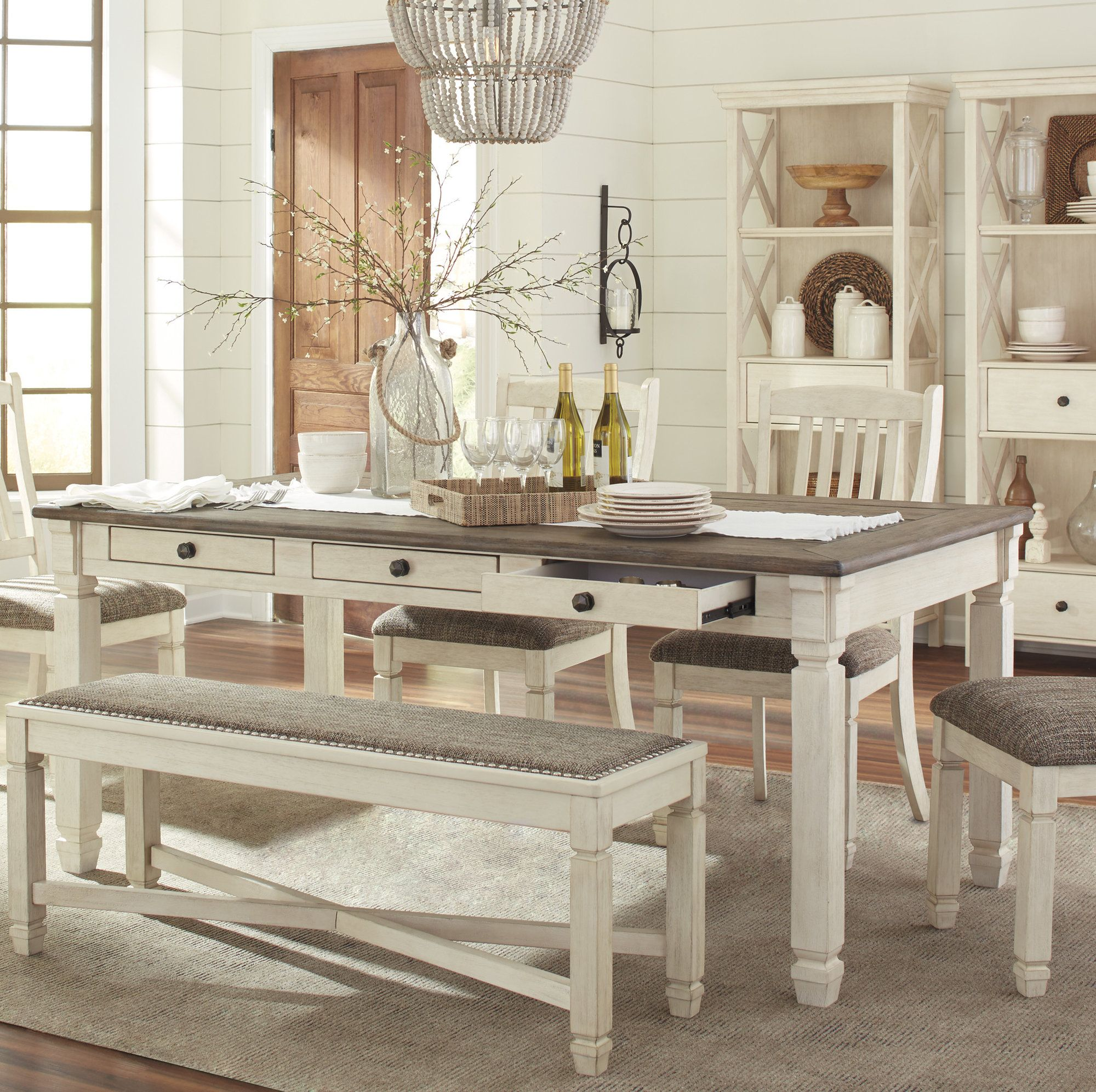 Amberlyn Counter Height Dining Table Dining Table In Kitchen