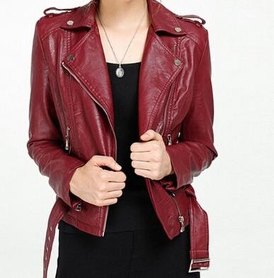 fashionbear Coloured leather jacket, Jackets, Leather jacket