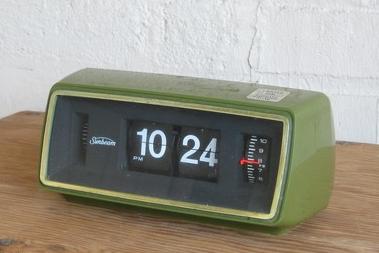 Vintage Ge Flip Alarm Clock Flip Alarm Clock Clock Vintage