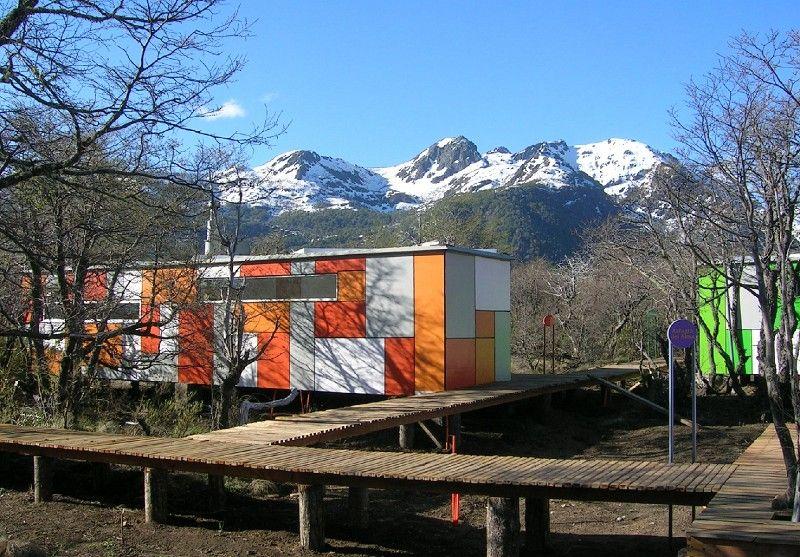 ecobox andino cabaas container refugios de montaa chile