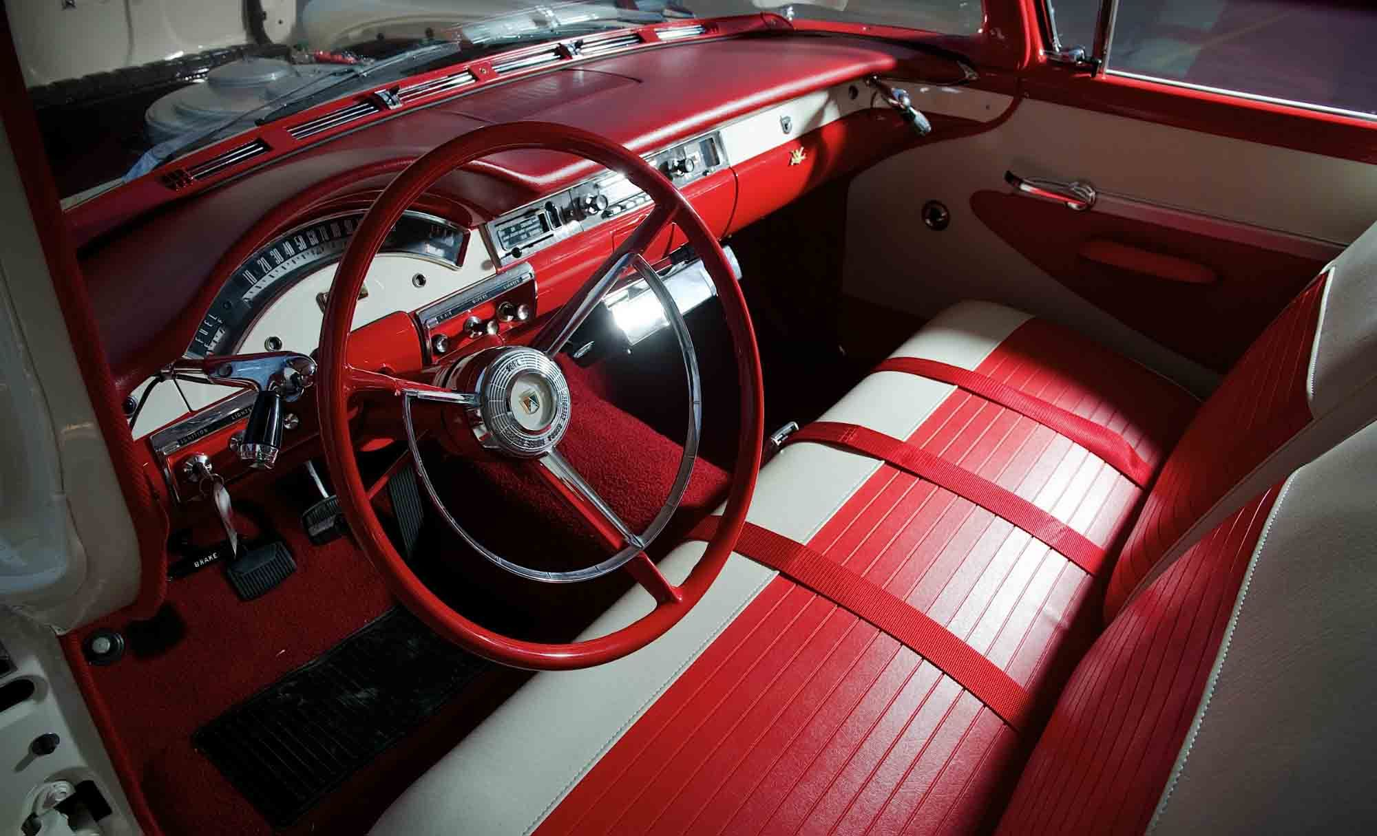 1957 ford station wagon interior