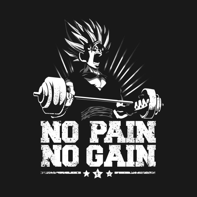 No pain no gain saiyan gym p pinterest gym for Gimnasio 5 dragones