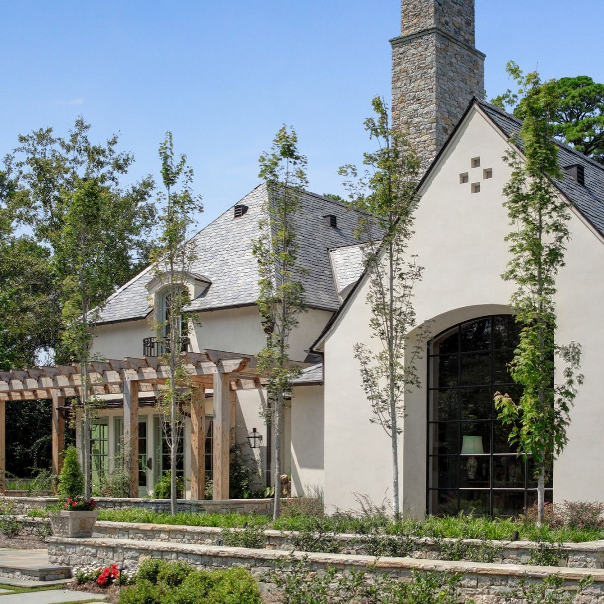 Oakhill Residence French Cottage Exterior French Country Exterior Country Farmhouse Exterior
