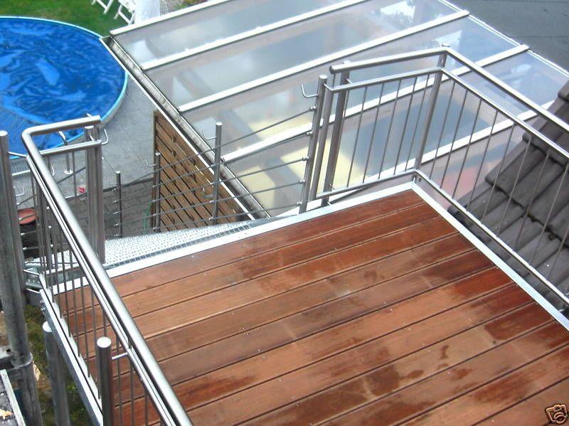 Balkon anbaubalkon   wangentreppe außentreppe verzinkt in ...