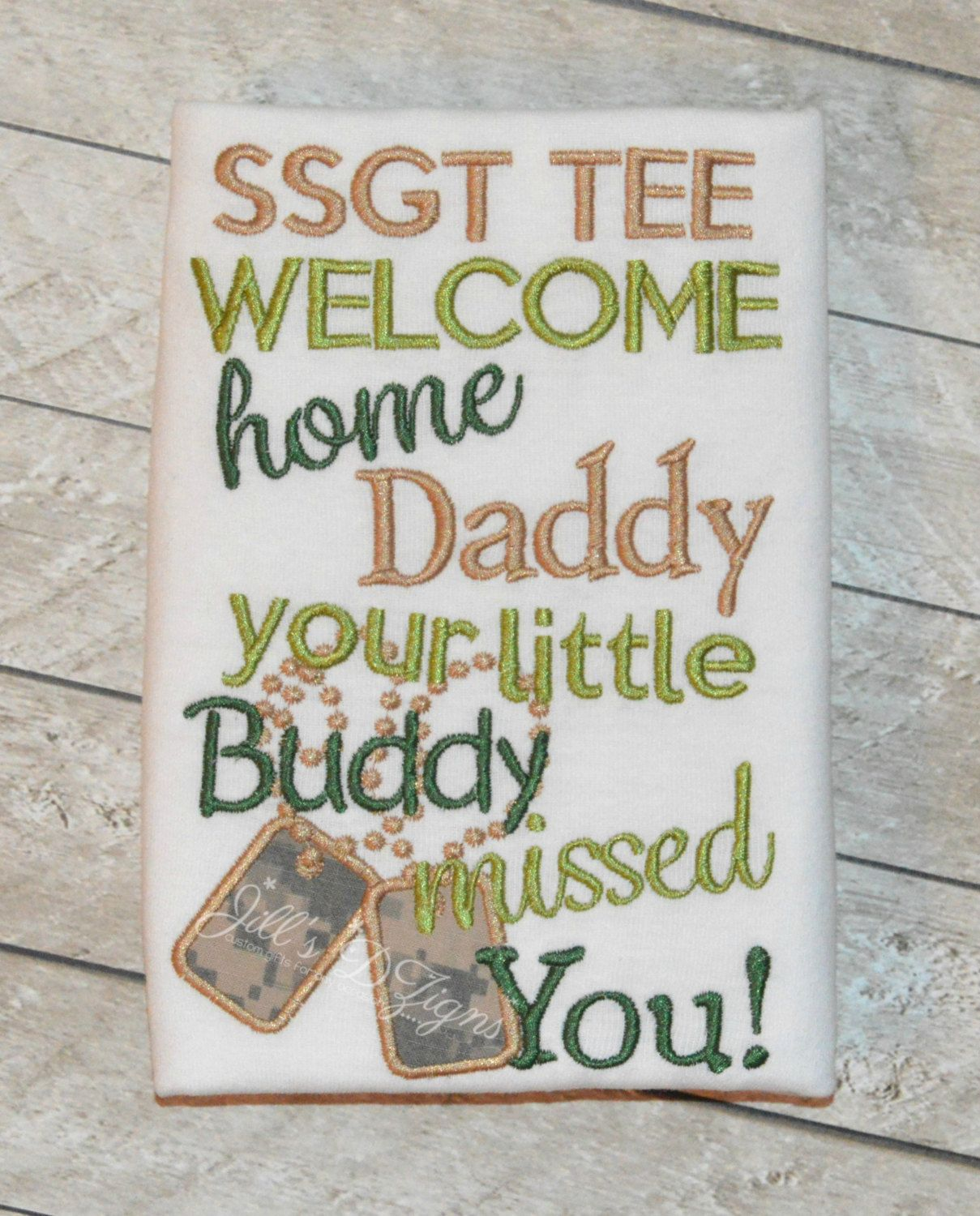 Personalized Military Homecoming Shirt. Army Navy Marines Air Force ...
