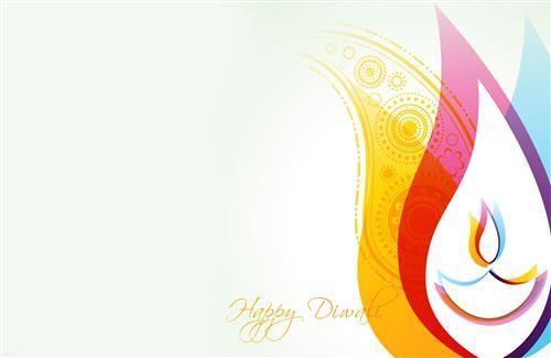 Beautiful Happy Diwali Greetings Card Wallpaper Free Download - free blank greeting card templates
