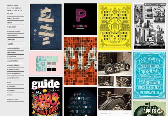 Graphic design inspiration blog  63 best Tumblr blogs for designers | Graphic design inspiration ...