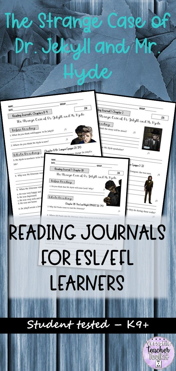 Dr. Jekyll and Mr. Hyde Novel Study Guide with Answer Key ...